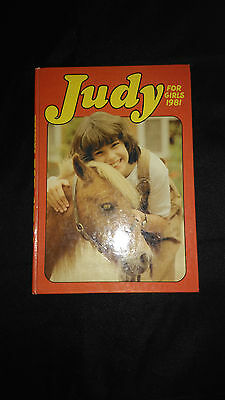 Judy For Girls Annual 1981 Vintage/Retro Hardback Book