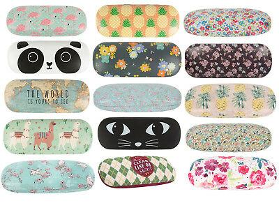 Hard Glasses Case Spectacle Protector Floral Sunglasses Cases Vintage qa
