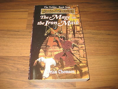Forgotten Realms Novel The Nobles Book 4  The Mage in the Iron Mask iTSR 1996 VG