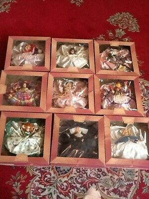 """""""The House Of Dolls""""  Vintage Lot of 9 Never Used"""