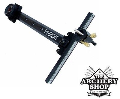 New Cartel Archery Recurve (Right Hand) Sight Tournament-Ex - Metal Construction