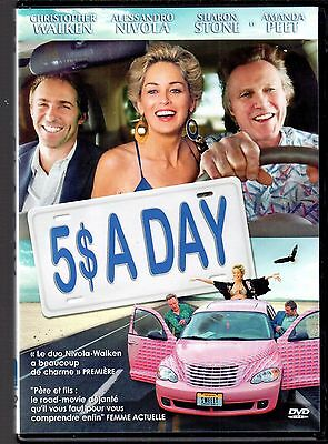 DVD 5$ A Day (Comme neuf) | Sharon Stone | Comedie | Lemaus
