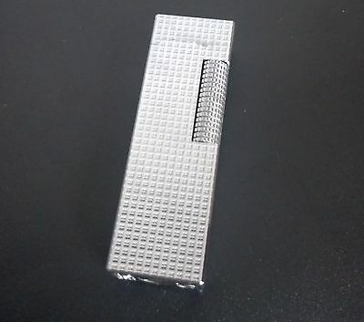 Colibri silver duo flame lighter John Sterling 1980's  Lonndon.