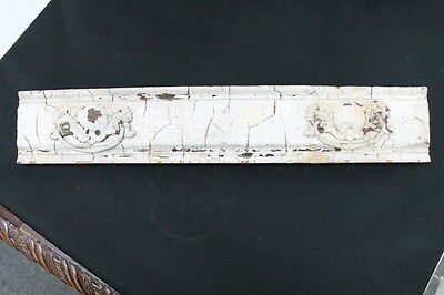 vintage farmhouse chippy shabby white painted drawer front with pulls