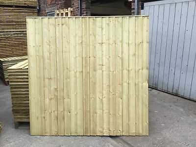 Feather Edge Fence Panels 6ft x 6ft