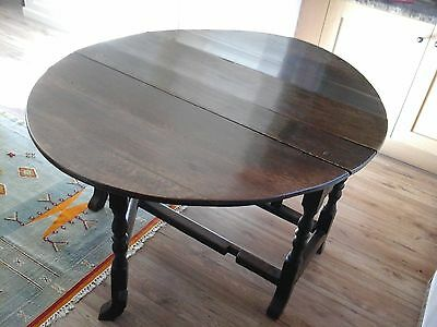Antique Oak Table, Late 17th century