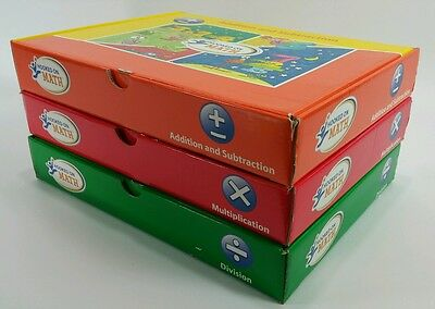 Hooked On Math 3 Level Program Addition Subtraction Multiplication Division 6-10