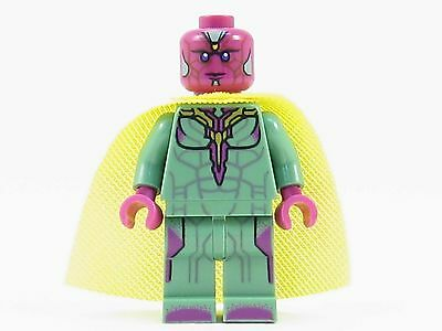 Vision LEGO Minifigure - Genuine Minifig from Set 76067