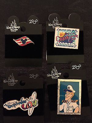 Lot Of Four Disney Cruise Line Pins