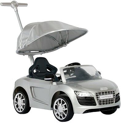 Childs Car Push Buggy Pushchair Audi Travel Stroller Harness Kids Seat In Canopy