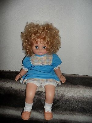big doll height 55 cm vintage Russia