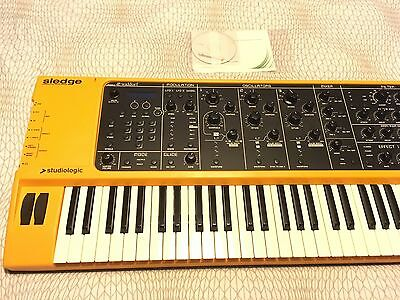 Studiologic Sledge v2 Synth - Boxed, in excellent condition!