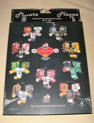 CFL A Canadian Tradition Football Jersey Evolution History Wall Plaque