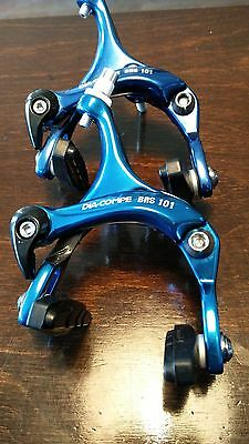 Dia Compe BRS101 Racing Caliper Brake Front and Rear Blue