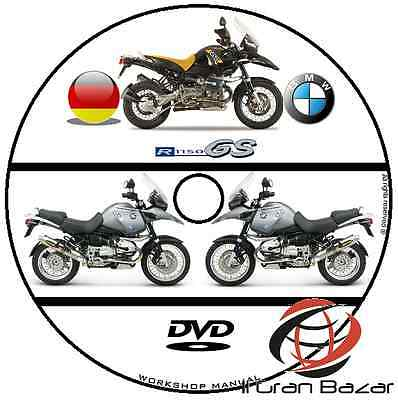 Manuale Officina Bmw R1150 Gs My 1999 - 2004 Workshop Manual Service Cd Dvd