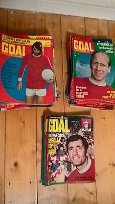 Goal! Football Magazine-1969 1970 1971 1972 Individual Issues