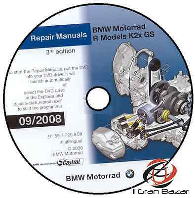 Manuale Officina Bmw R 1200 Gs V09/2008 Workshop Manual Service Software Reprom