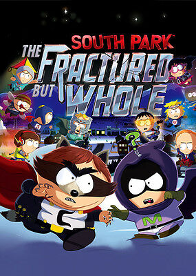 South Park The Fractured But Whole RARE 2 Sided Promotional Poster 24 x 36 NEW