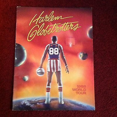 1988 World Tour Harlem Globetrotters Programme