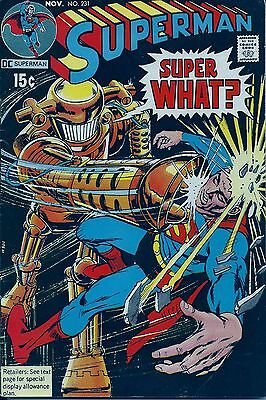 """Superman(vol. 1) # 231  JUST IMAGINE DC""""S WHAT IF FREE SHIPPING !"""