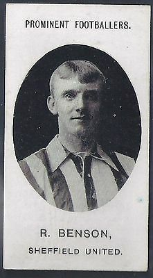 Taddy-Prominent Football Ers (No Footnote)- Sheffield United - Benson