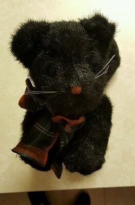 the boyds collection black cat with bow