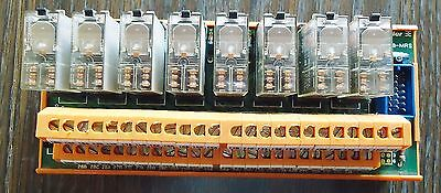 Weidmuller Rsm-Gr8-Mrs With 8 Omron G2R-2-Sn 4 Vdc, Made In Germany