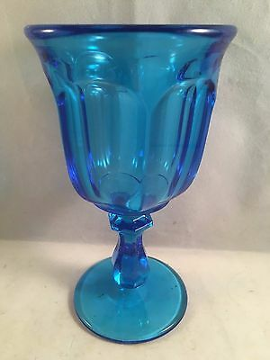 Imperial Glass, Old Williamsburg, Antique Blue, Wine Glass
