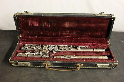 Vintage Hoosier Flute one minor ding with case