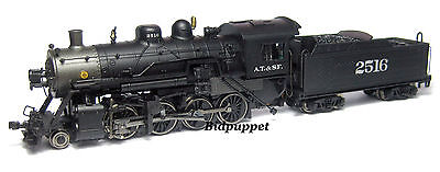 ATSF Santa Fe 2-8-0 Consolidation Steam Locomotive DCC Ready #2516  N-Scale
