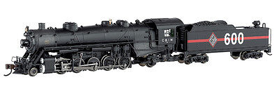 Chicago & Illinois Midland 2-10-2 USRA Light Steam Locomotive Bachmann #83352