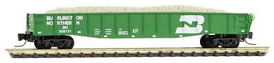 Z-Scale MTL #522 00 281 Burlington Norther 50' Gondola Fishbelly Sides