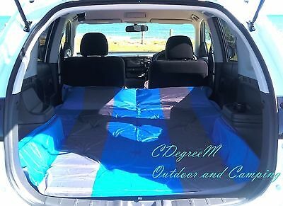 Self Inflating Mattress Mat Air Bed Camping Joinable SUV 4WD Double