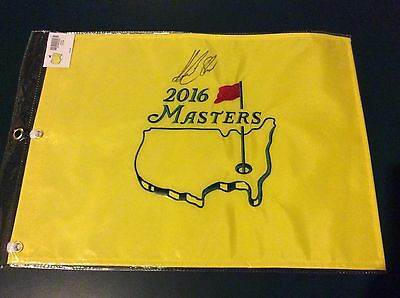 2016 Masters Augusta National Pin Golf Embroidered Flag - Henrik Stenson