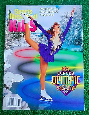 Sports Illustrated for kids feb 94 Winter Olympic preview. Oksana Baiul NO LABEL