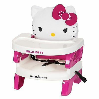 Baby Trend Portable High Chair Easyseat Toddler Booster Hello Kitty Polka... NEW