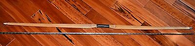 Vintage Wooden Long Bow   Antique Bows Arrow Old Hunting Hunt Archery