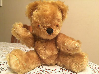 Up for Sale is Grandma's Old Teddy Bear