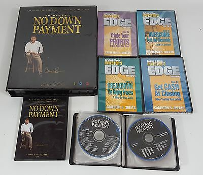 Carleton Sheets No Down Payment Real Estate Training Program Manuals DVD CD