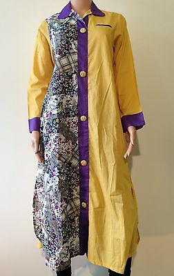 Summer Cotton Stitched small Size Printed Asian Pakistani Indian Kurta