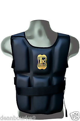 16kg Boxing Chest Weighted Jacket Running Training Fitness Vest Loss Running BK