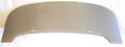 Fiat 500 Abarth Rear Tailgate Roof Spoiler Wing Genuine New Grey