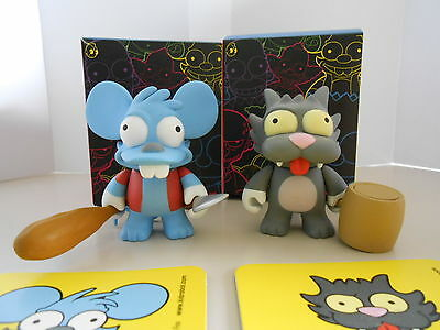 Kidrobot x Simpsons Series 1 - ITCHY & SCRATCHY (1/48)
