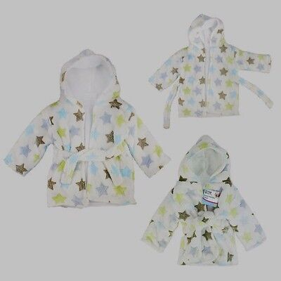 Summer Sale  Baby Hooded Fleece Dressing Gowns / Robe.