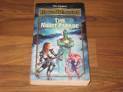 Forgotten Realms Novel The Harpers Four The Night Parade TSR Softcover 1992 VG