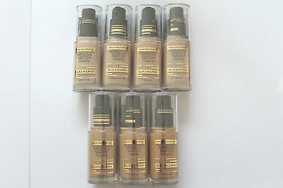 Max Factor Miracle Match Foundation Blur & Nourish 30ml - Please Choose Shade: