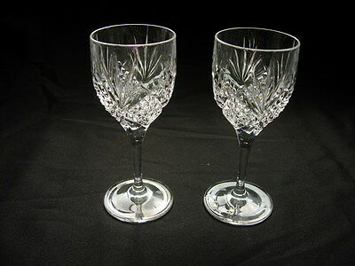Singapore Airlines Raffles Class Crystal Cordial Glass - Pair FREE SHIPPING