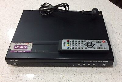 Teac HDB848 HD Set top box. With Remote Control, Aerial And HDMI Cable.
