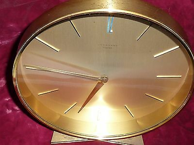 Beautiful Art Deco Design Junghans Meister Desk Clock