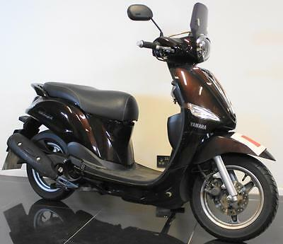 2013 63 Yamaha Xc 115 S Brown Delight Scooter/spares/repair Learner Legal Cat C